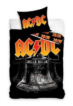 komplet pościelowy AC/DC - HELLS BELLS, kołdra (160*200) + poduszka (70*80)