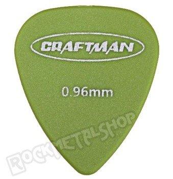 kostka gitarowa CRAFTMAN - MATTE ABS GREEN WP-600Q