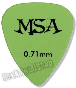 kostka gitarowa MSA GREEN