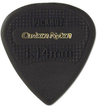kostka gitarowa PICKBOY EDGE, SHARP TIP Carbon Nylon 1,14mm