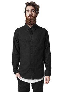 koszula CHECKED FLANELL blk/blk