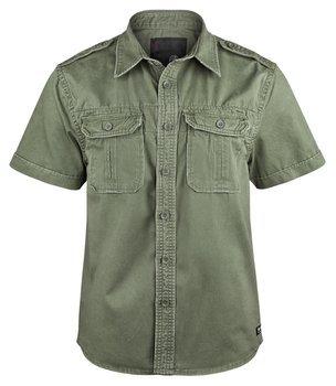 koszula VINTAGE SHIRT SHORTSLEEVE olive