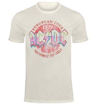 koszulka AC/DC - VINTAGE 79 vintage white