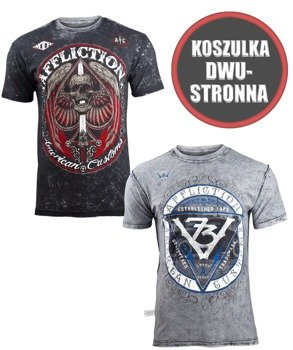 koszulka AFFLICTION - DEATH MARCH, dwustronna