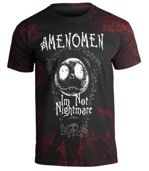koszulka AMENOMEN - I'M NOT NIGHTMARE (OMEN073KM ALLPRINT RED)