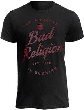 koszulka BAD RELIGION - LA BURNING
