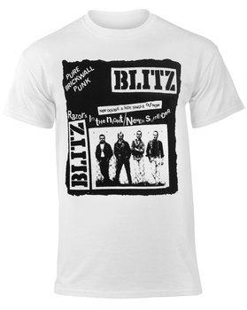 koszulka BLITZ - PURE BRICK WALL biała