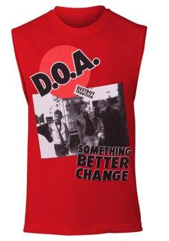 koszulka D.O.A. - SOMETHING BETTER CHANGE