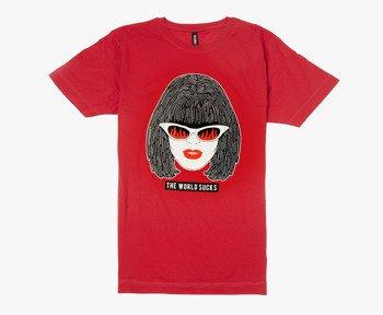 koszulka DISTURBIA - AMY RED, unisex