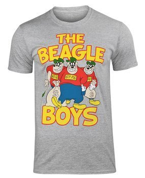 koszulka DONALD DUCK - THE BEAGLE BOYS szary melanż