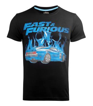 koszulka FAST & FURIOUS - BLUE FLAMES