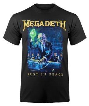 koszulka MEGADETH - RUST IN PEACE TRACKLIST