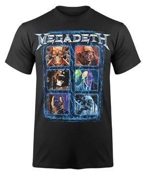 koszulka MEGADETH - VIC HEAD GRID