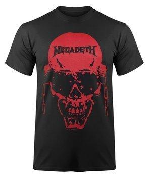 koszulka MEGADETH - VIC HI-CONTRAST RED