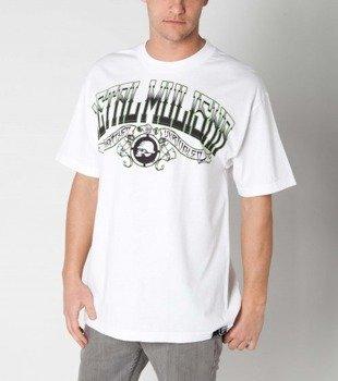 koszulka METAL MULISHA - DROPOUT biała