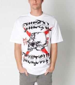 koszulka METAL MULISHA - GASH biała