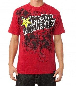 koszulka METAL MULISHA - ROCKSTAR INCARNATE czerwona