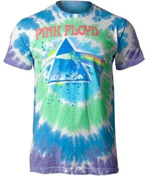 koszulka PINK FLOYD - DARK SIDE OILPAINT, barwiona