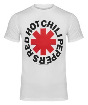 koszulka RED HOT CHILI PEPPERS - ASTERISK LOGO white