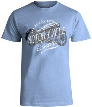 koszulka SMITHS - LEGEND niebieska
