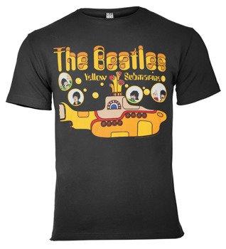koszulka THE BEATLES - YELLOW SUBMARINE ciemnoszara