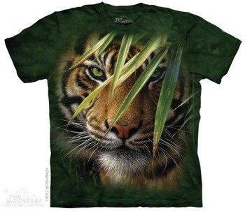 koszulka THE MOUNTAIN - EMERALD FOREST TIGER, barwiona