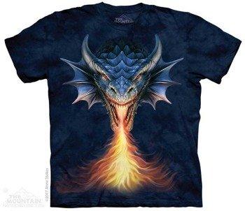 koszulka THE MOUNTAIN - FIRE BREATHER DRAGON, barwiona