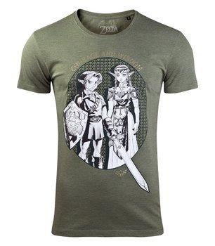 koszulka ZELDA - LINK & PRINCESS ZELDA
