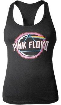 koszulka damska PINK FLOYD - BLUE PRISM RACERBACK na ramiączka