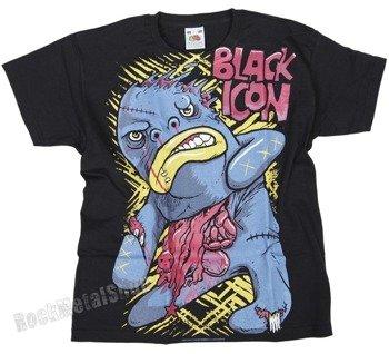koszulka dziecięca BLACK ICON - BIGMO czarna