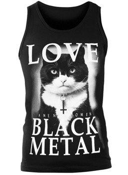 koszulka na ramiączkach AMENOMEN - LOVE BLACK METAL (OMEN123KR)