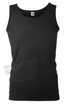 koszulka na ramiączkach FRUIT OF THE LOOM - BLACK bez nadruku