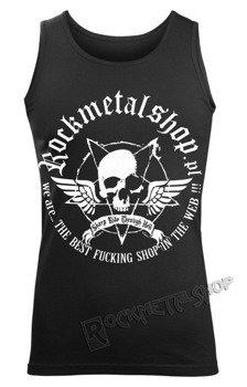 koszulka na ramiączkach ROCKMETALSHOP.PL - LOGO 9