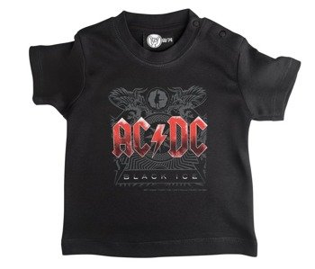 koszulka niemowlęca AC/DC - BLACK ICE