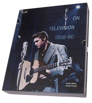 książka ELVIS PRESLEY - ELVIS ON TELEVISION 1956-1960 (G. MINTO, J. PIRZADA), wersja anglojęzyczna