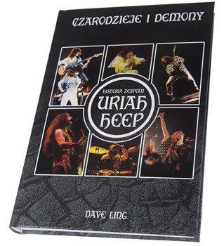 książka URIAH HEEP - CZARODZIEJE I DEMONY  - Dave Ling