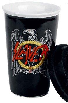 kubek SLAYER - EAGLE BLACK, ceramiczny bez ucha
