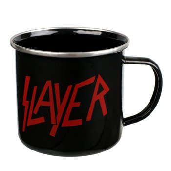 kubek SLAYER - LOGO metalowy