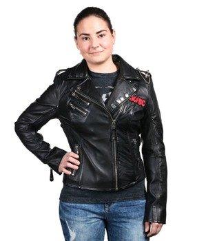 kurtka RAMONESKA AC/DC - LNTC black, damska