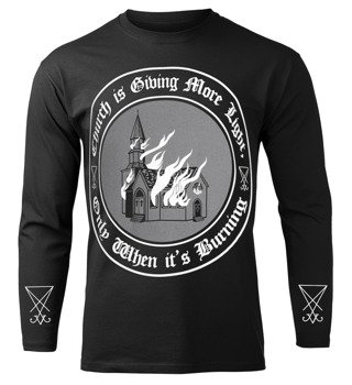 longsleeve AMENOMEN - CHURCH IS GIVING MORE LIGHT ONLY WHEN IT'S BURNING (OMEN138LO)
