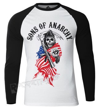 longsleeve SONS OF ANARCHY - REAPER SKULL