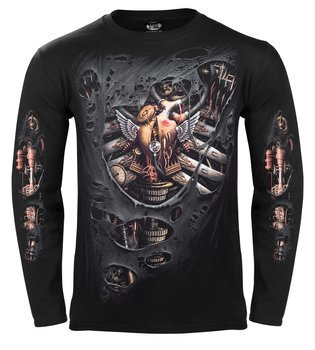 longsleeve STEAM PUNK RIPPED