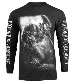 longsleeve VICTORY OR VALHALLA - VIKING WARRIOR
