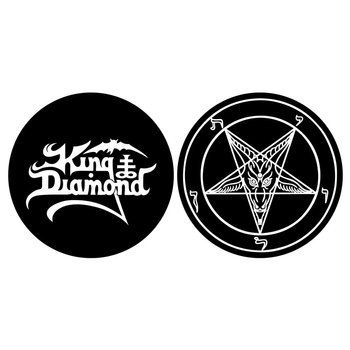 mata gramofonowa slipmata KING DIAMOND - LOGO / PENTAGRAM