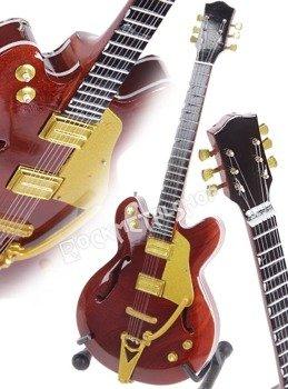 miniaturka gitary THE BEATLES - GEORGE HARRISON: GRETSCH COUNTRY GENTELMAN