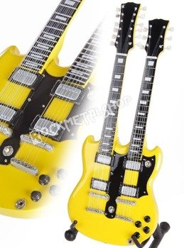 miniaturka gitary ZAKK WYLDE: GIBSON DOUBLENECK