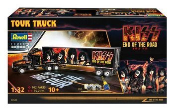 model do sklejania KISS - TRUCK AND TRAILER