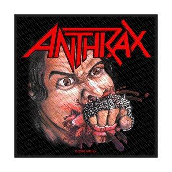 naszywka ANTHRAX - FISTFULL OF METAL