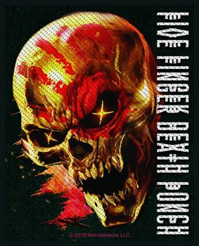 naszywka FIVE FINGER DEATH PUNCH - AND JUSTICE FOR NONE