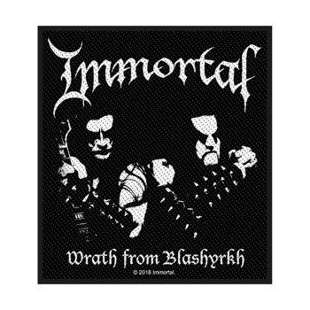 naszywka IMMORTAL - WRATH OF BLASHYRKH